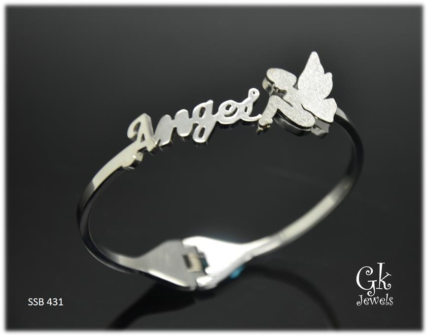 316 stainless steel Bangle SSB 431
