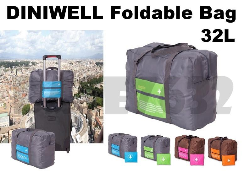 32L  Diniwell Foldable Travel Luggage Bag Large Organizer Pouch