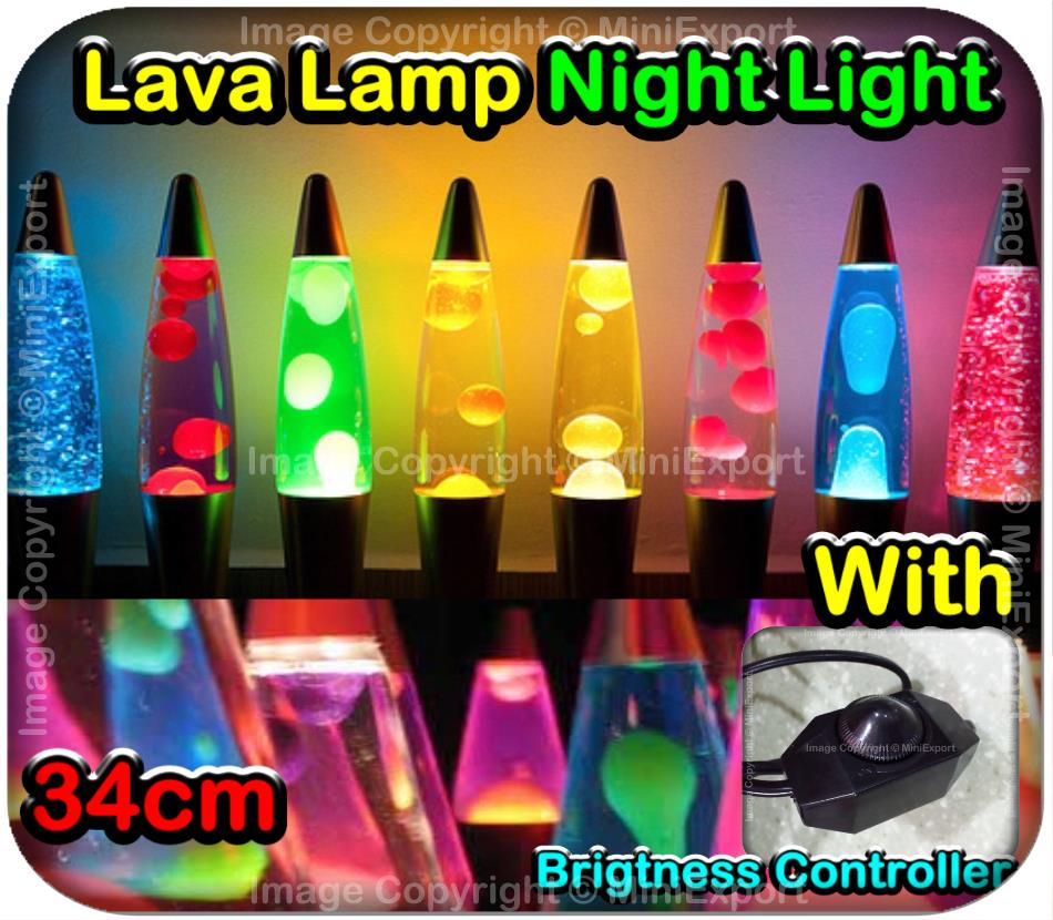Lava Lamp Malaysia 34cm Lava Lamp Night Light