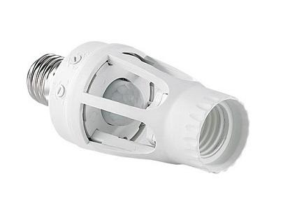 360 Degree PIR Motion Sensor Lamp Holder E27