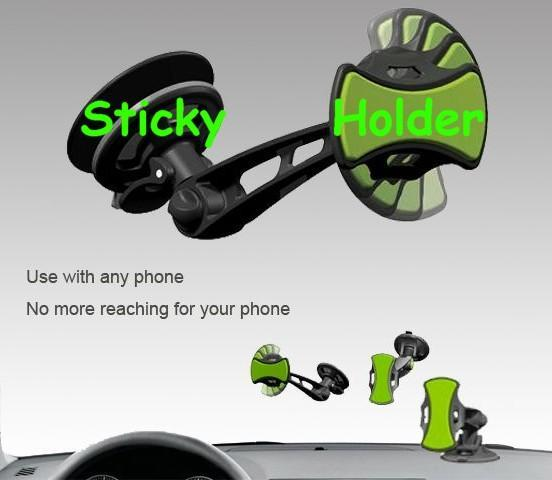 360 Degree Sticky Suction Universal Holder