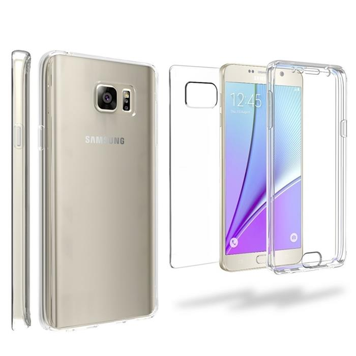 360 Front & Back Hard Full Body Protector Case Cover for Samsung Note5