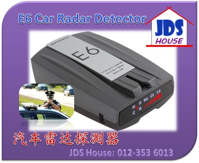 360 Full Band E6 Car Radar Speed Trap Detector LED Screen