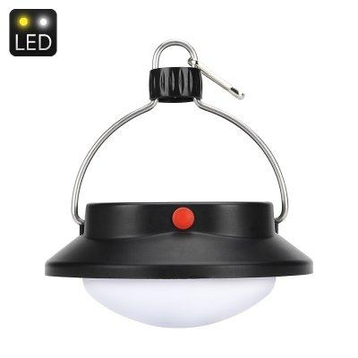360 Lumen LED Camp Light - 60 LEDs, 5.5V Polycrystalline Solar Panel