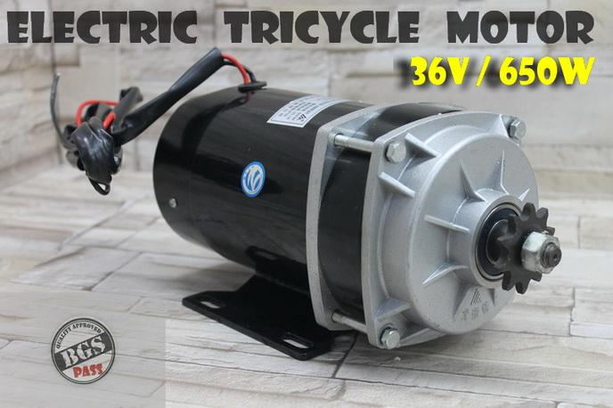 36V 650W Electric Brushed Motor for 3 wheel bicycle Motor 三轮&#