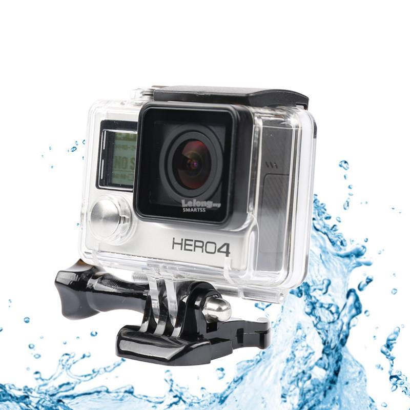 3C. COMPATIBLE ACC FOR GOPRO WATERPROOF CASE GOPRO 4 GP101