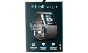 3C. FITBIT SMARTBAND SURGE FOR FITNESS LARGE FB501 BLACK/BLUE