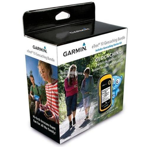 3C. GARMIN GPS NAVIGATOR TRACKING RUGGED HANDHELD eTREX 10
