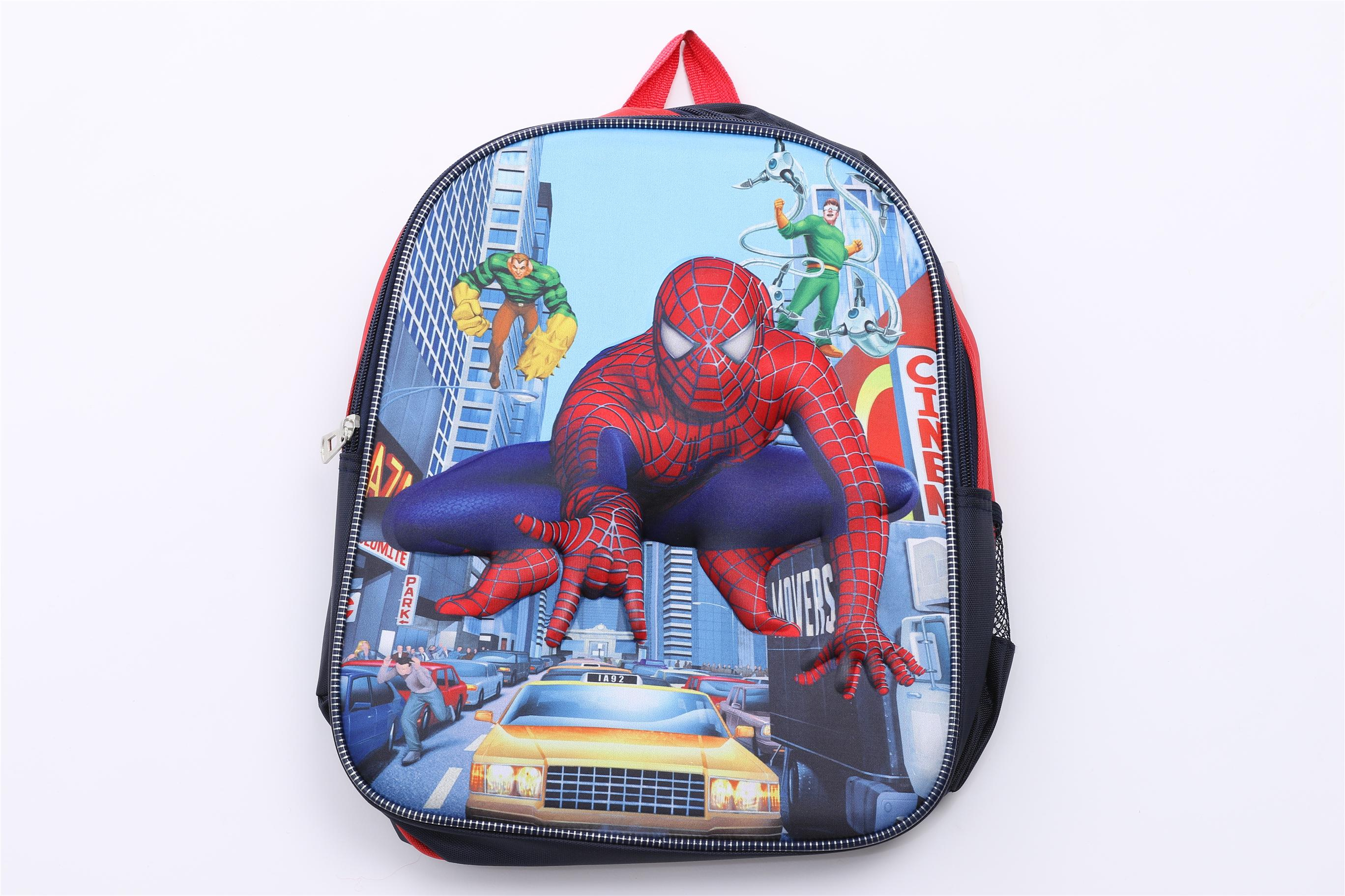 3D LITTLE BOY'S SPIDERMAN BACKPACK,SCHOOL BAG,SHOULDER BAG