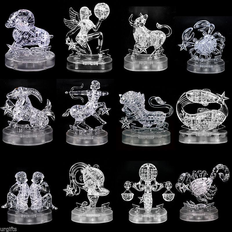 3D Crystal Puzzle Zodiac Pre Order Johor End Time 930