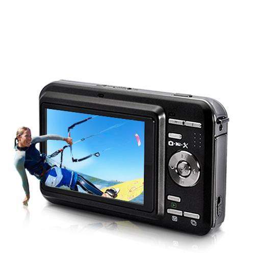 3D Digital Camcorder with 3 inch Glass-Free 3D Screen (2D/3D Switchabl..