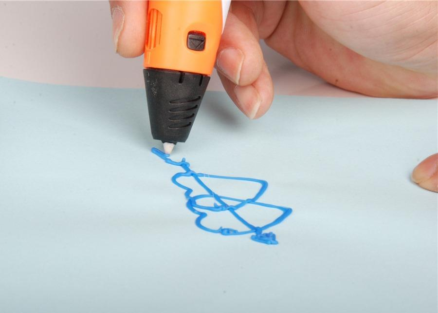 3D pen with LCD, Stand and FREE 4 rolls Filament