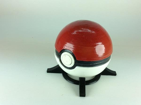 3d Printed Pokemon Ball