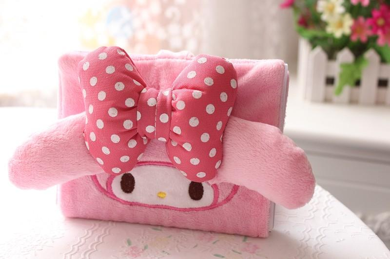 3D Soft Plush Melody Note Book Ready Stock