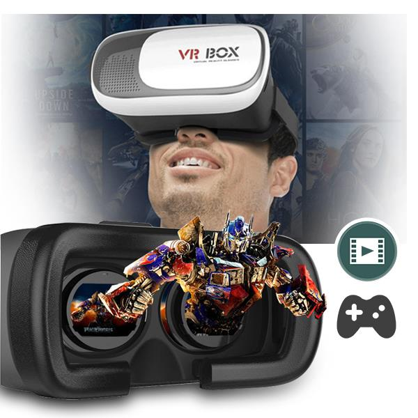 3D Virtual Reality Glasses VR Box Second Generation