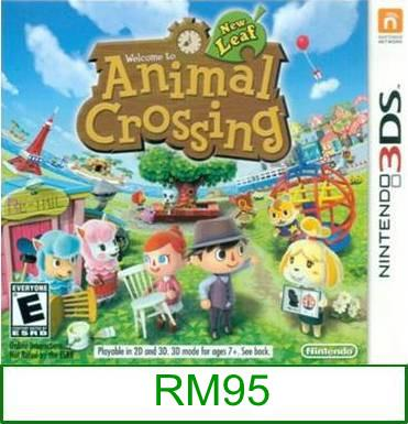 3Ds Animal Crossing New Leaf [US/Asia] ★Brand New & Sealed&#9733..