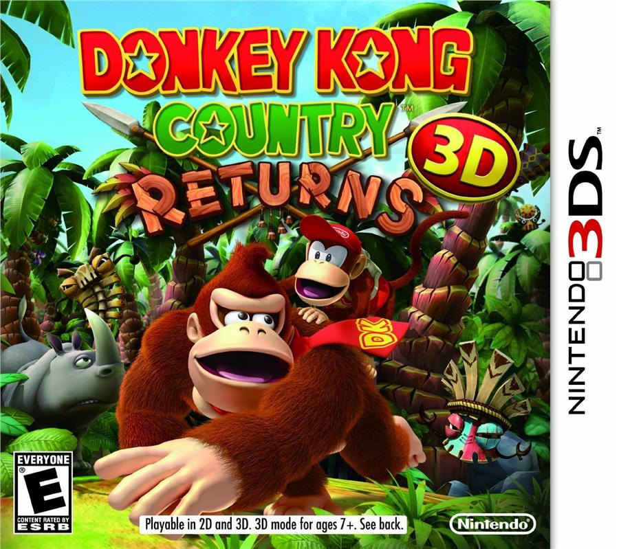 3DS DONKEY KONG COUNTRY RETURNS 3D (US)