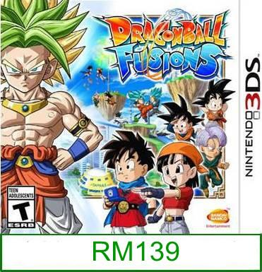 3Ds Dragon Ball Fusion [US/Asia] ★Brand New & Sealed★