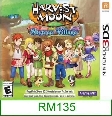 3Ds Harvest Moon Skytree Village [US/Asia] ★Brand New & Sealed&#..