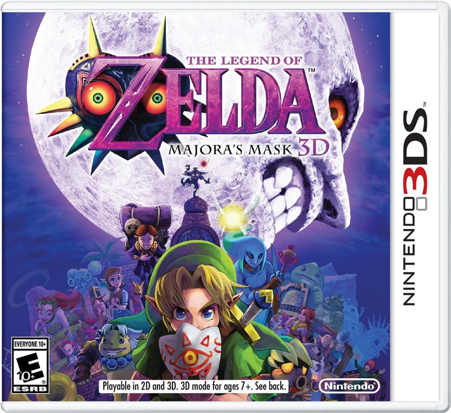3DS THE LEGEND OF ZELDA MAJORAS MASK (AS)