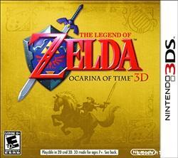 3DS The Legend of Zelda Ocarina Of Time 3D - US