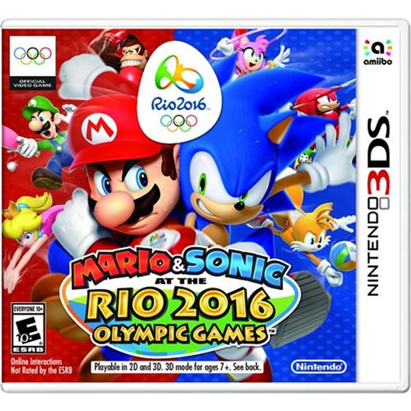 3DS Mario & Sonic at the Rio 2016 Olympic Games (US)