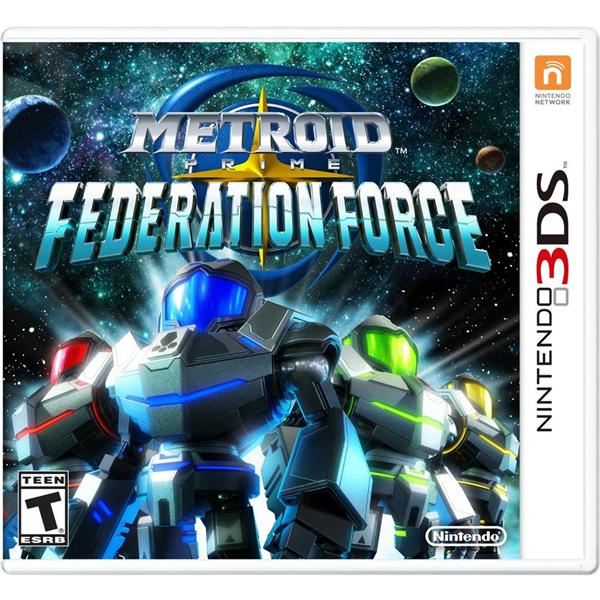 3DS Metroid Prime: Federation Force (US)