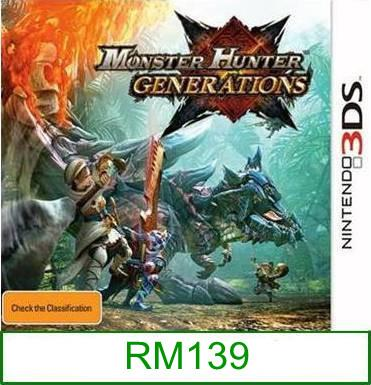 3Ds Monster Hunter Generations [US/Asia] ★Brand New & Sealed&#97..