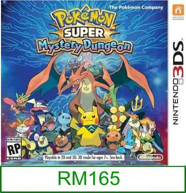 3Ds Pokemon Super Mystery Dungeon [US/Asia] ★Brand New & Sealed&..