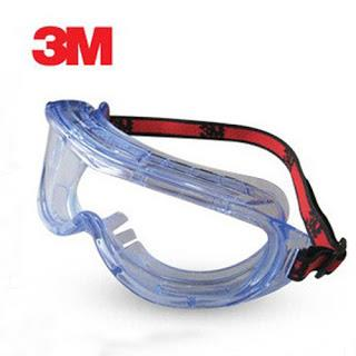3M 1623AF Anti-Fog Chemical Splash Goggles.