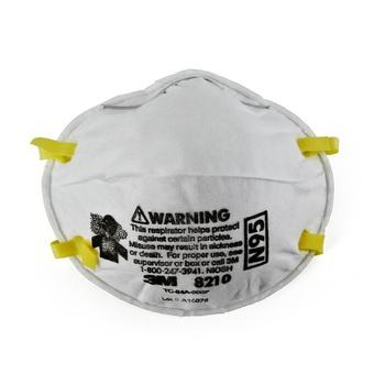 3M 8210 N95 Particulate Respirator Disposable Face Mask 20pcs/box