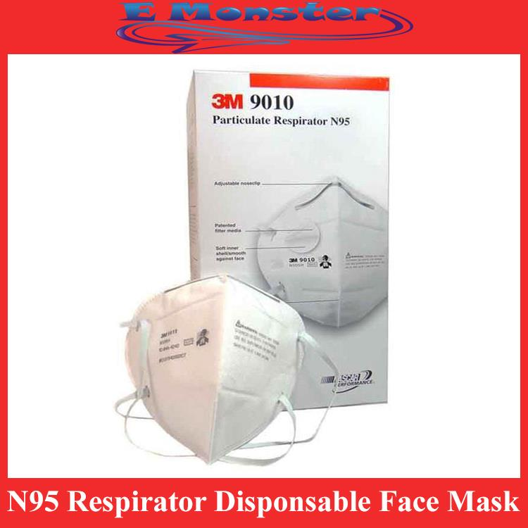3M 9010 N95 Respirator Disponsable Face Mask