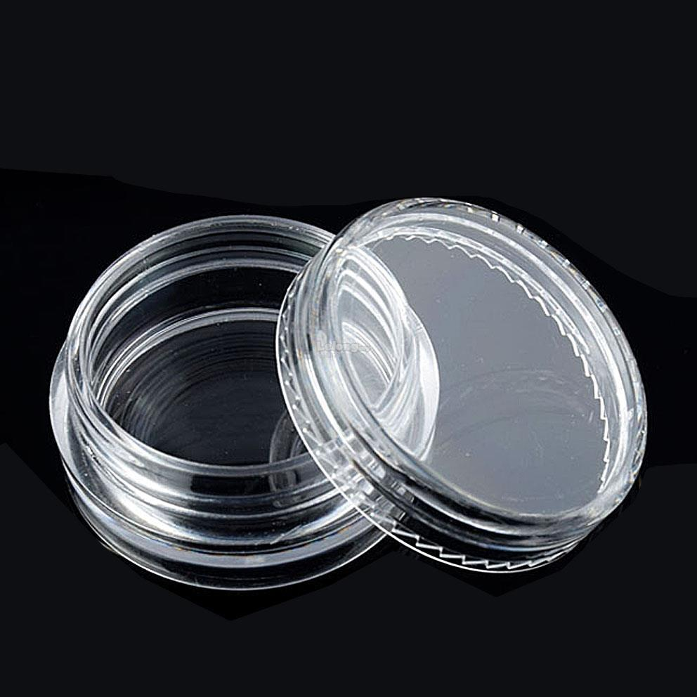 3pcs 10g Cosmetic Empty Jar Pot Free 1pc Mask stick