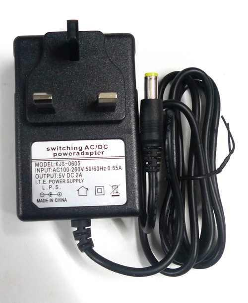 3pin Wall AC Power Adapter Charger DC 5V 2A 5.5mm
