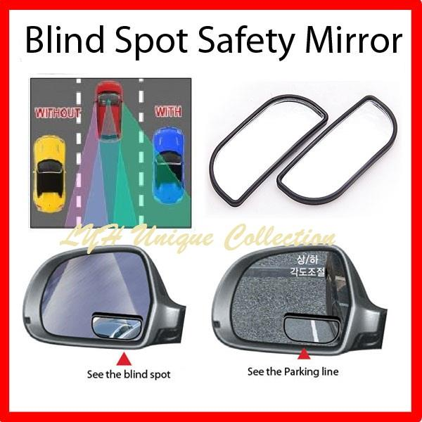 3R066 Car Blind Spot Wide Mirror Suit For Any Car