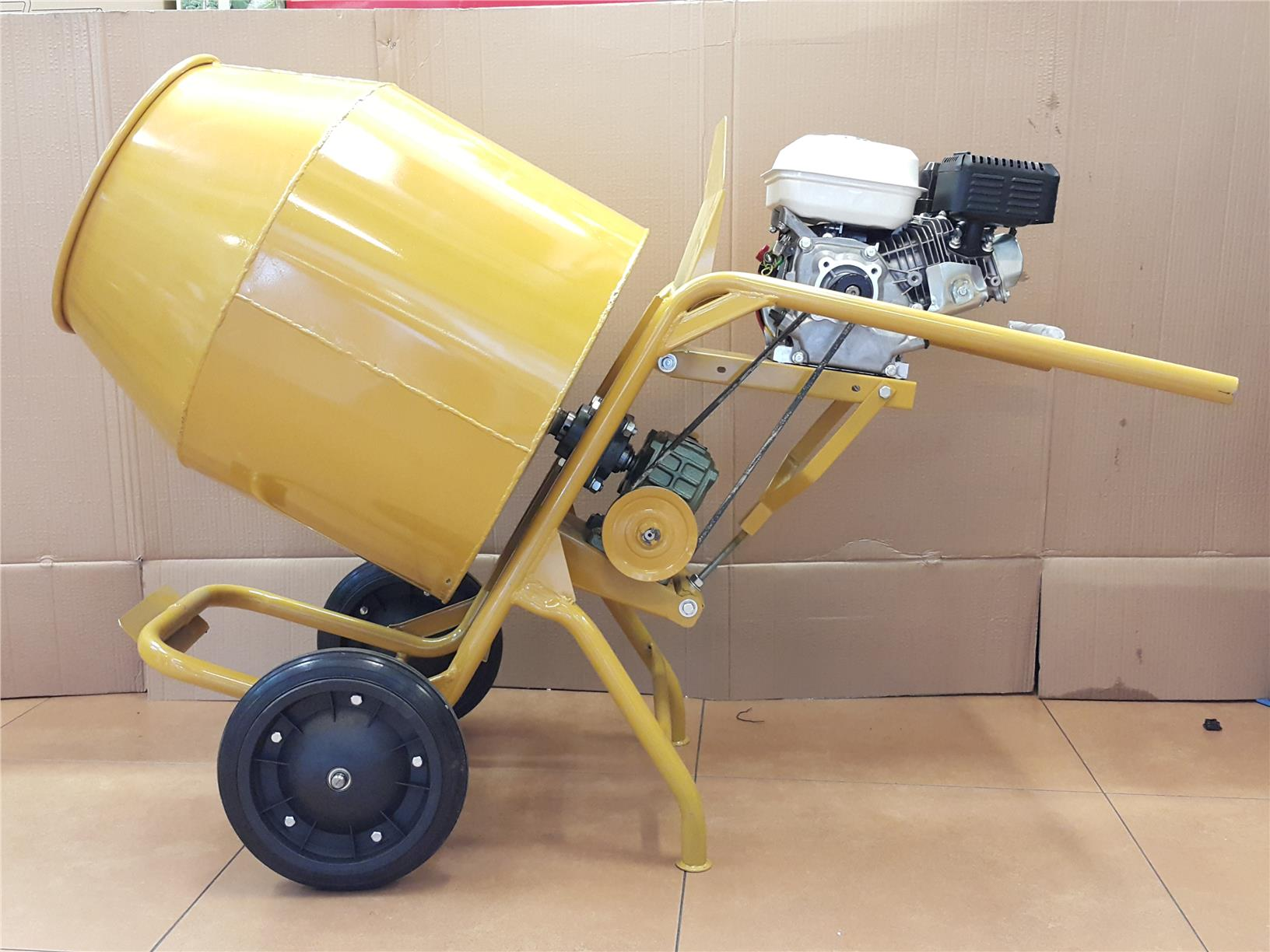 3T CONCRETE MIXER C/W GASOLINE ENGINE 5.5HP ID338983