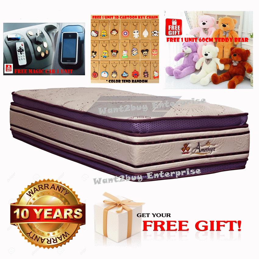 3V 16' Amethyst Intense Anti-Static Protection Single Size Mattress