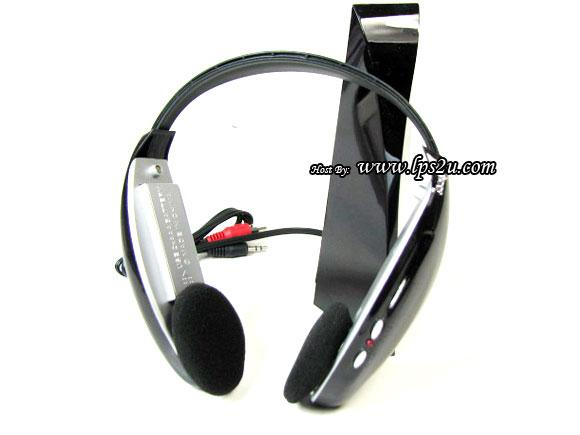 4 in 1 Wireless Headphone With FM Radio & Voice Chatting (WST-125)