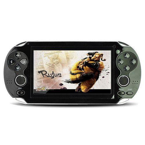 4.3' 16:9 TFT Screen 4GB Dual Joystick HD Mp3 Mp4 MP5 PMP Player Game