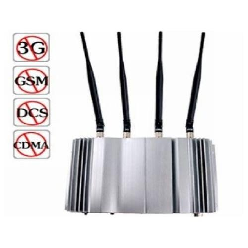 4 Band 3G Mobile Signal Jammer