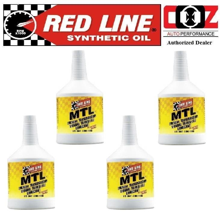 4 (BTL) RED LINE OIL GL-4 FULL SYNTHETIC MTL MANUAL TRANSMISSION FLUID