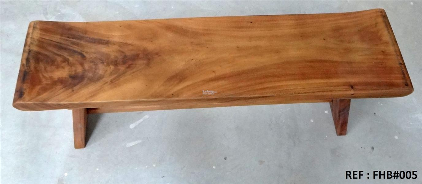 4 feet Solid wood seating bench. FHB#005