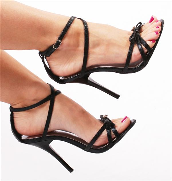 Sexy High Heel Sandals - Qu Heel