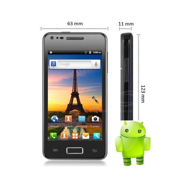 4' MINI GALAXY I9070 ANDROID 4.0  DUAL CORE DUAL SIM DUAL CAMERA HP