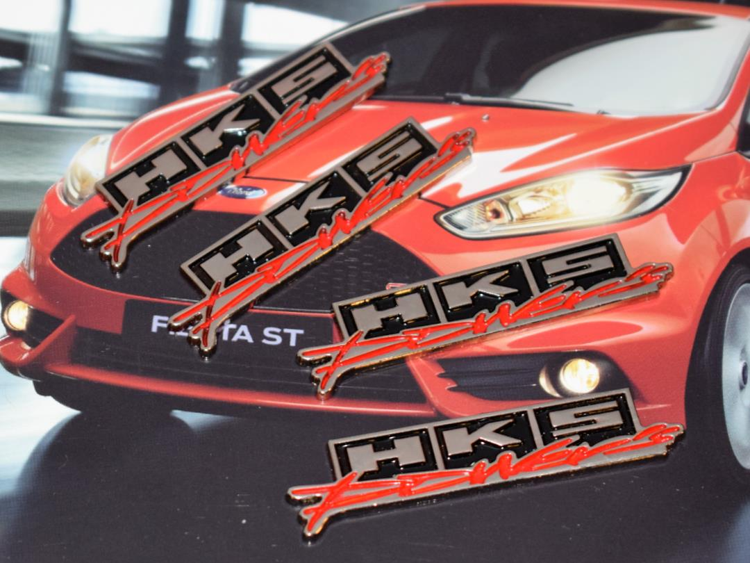 4 Pieces Chrome Powers Hq Metal Trunk Badge Auto Fender Side Do OQN-X