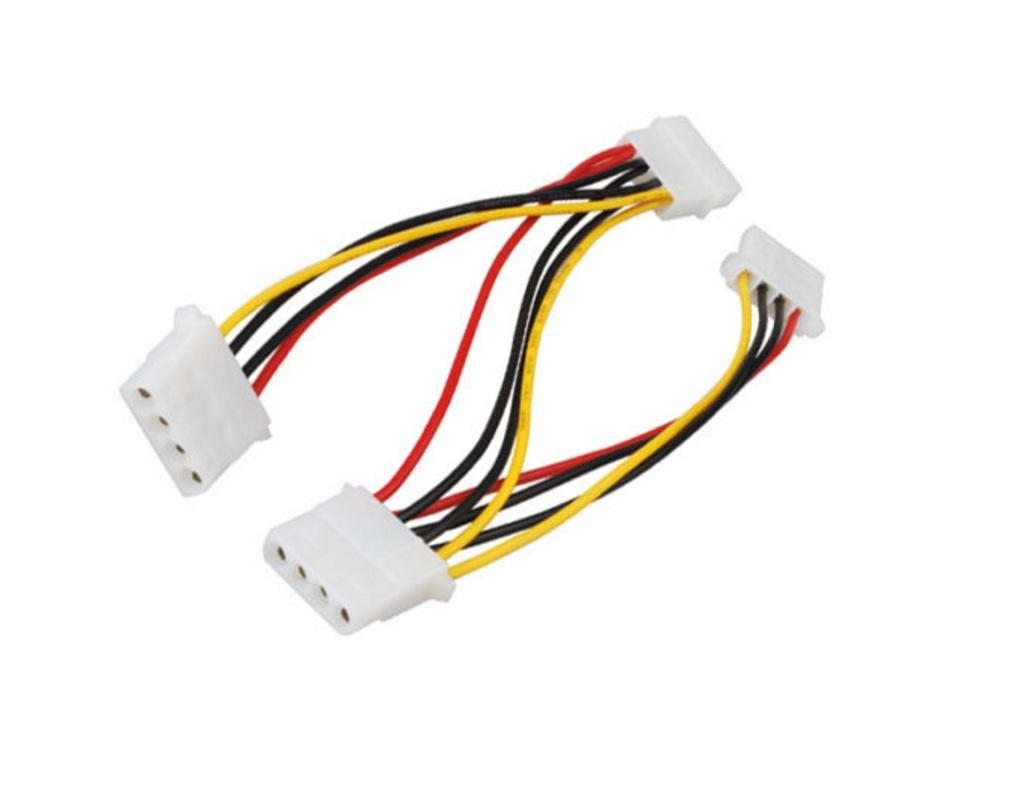 4 Pin IDE 1 to 3 power cable 1 to 3 ide power cable IDE 3 Splitter