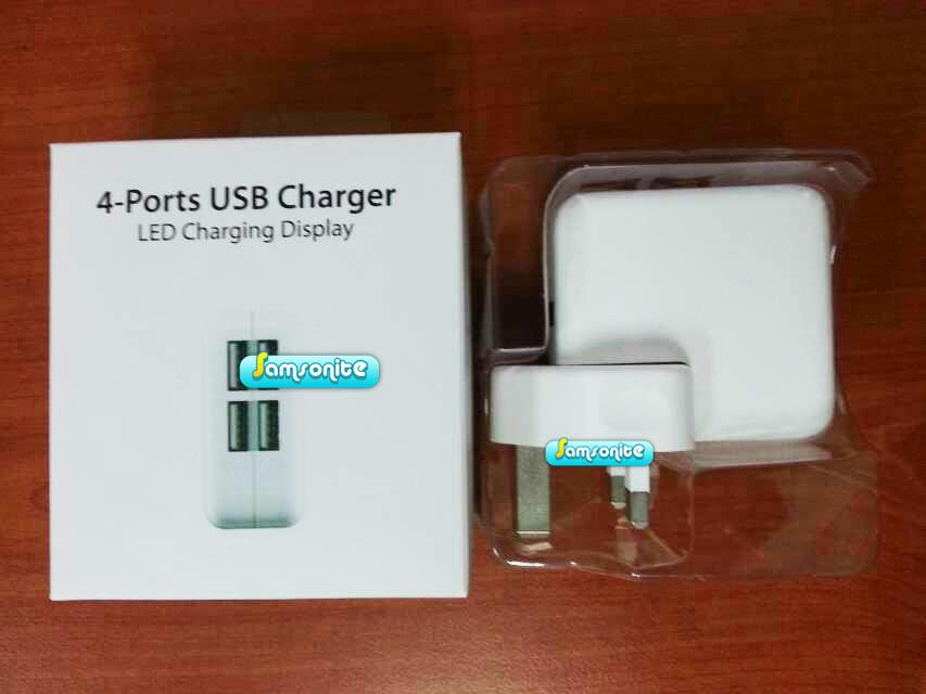 4 Port USB Charger
