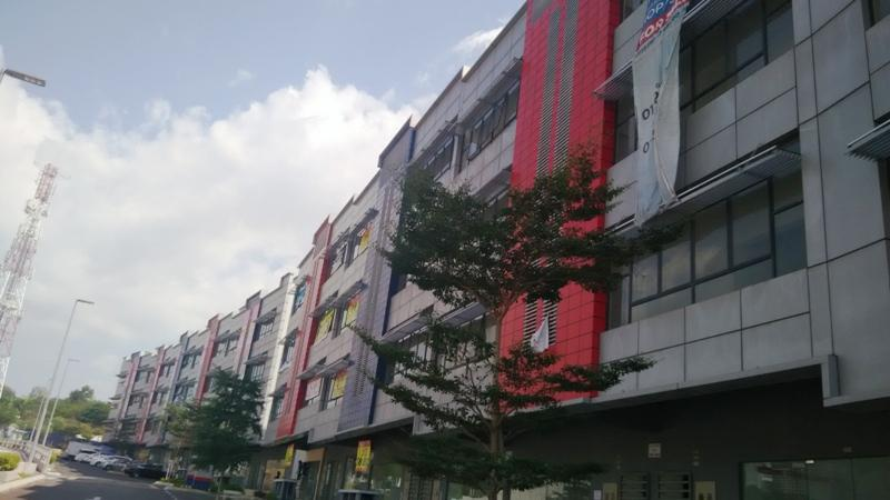 4 Sty Shop Office for rent, The Earth, Bukit Jalil City, Brand New