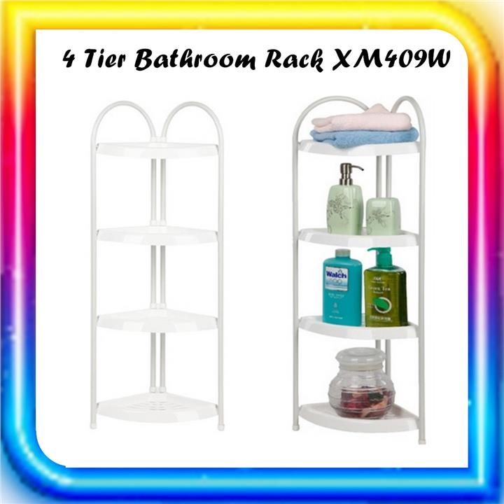 4 Tier Bathroom Rack - XM409W