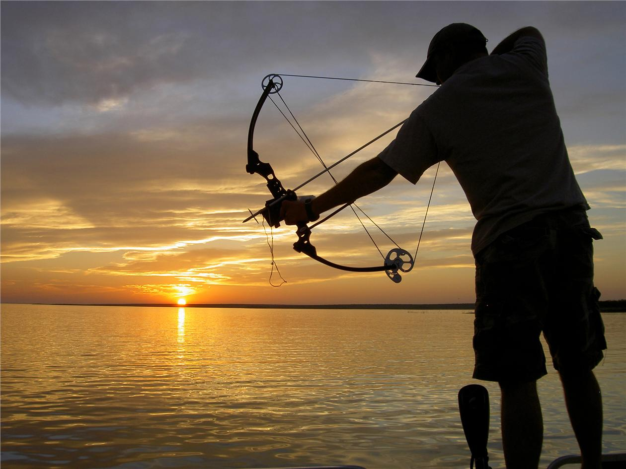 40lbs bow fishing sport fish huntin end 5 27 2016 12 15 pm for Fishing bow kit